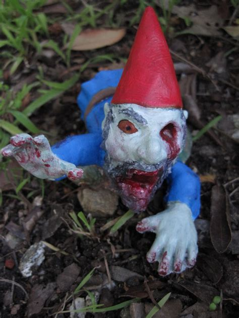 undead garden decor zombie lawn gnome zombie lawn gnomes www imgkid com the image kid has it