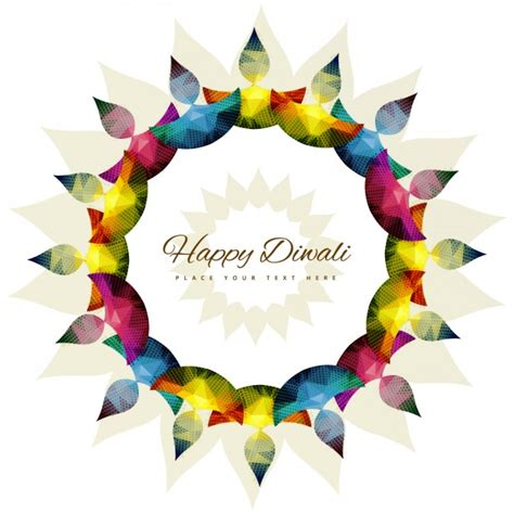 templates for diwali happy diwali template vector free download