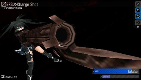 ps vita black rock shooter themes black rock shooter the game on ps vita psp official