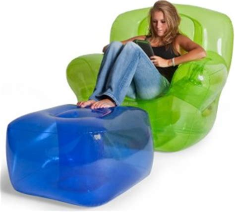 blow up armchair inflatable furniture budget friendly strength style