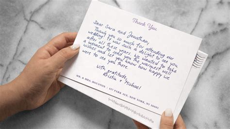 wedding thank you note wedding thank you notes but doable the columbian