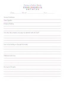 Fashioned Sermon Outlines by Free Printable Template