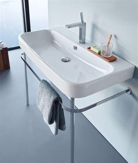 duravit happy d bathtub happy d 2 console washbasin by duravit design sieger design