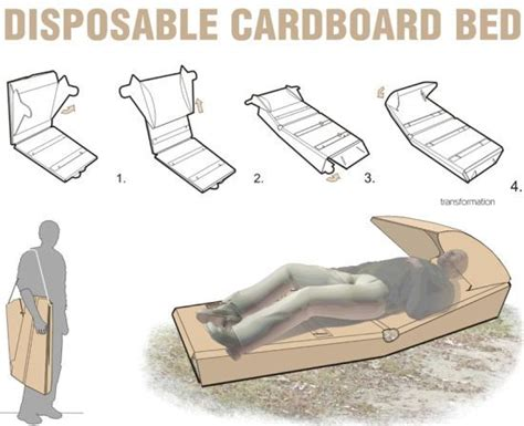 cardboard bed furniture dr who and design on pinterest