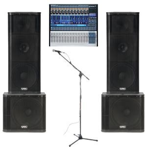 Mantap Microphone Wireless Monitor Audio Ma 4000 4 Mic Handle boston audio rentals arena line array package