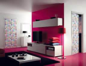 picturesque and modern interior doors with cool colors