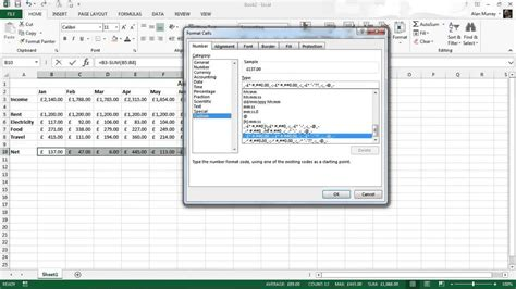 format excel negative numbers red automatically format negative numbers red in excel youtube