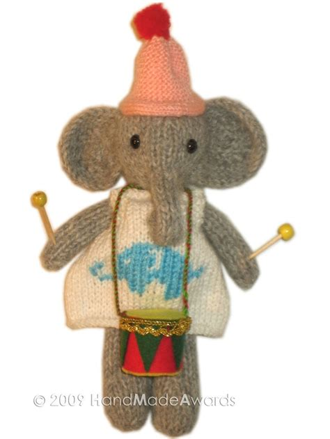 pattern drum in knitting lovely elephant with drum knit pattern pdf email