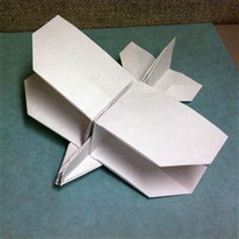 Origami Biplane - craft transportation on airplanes