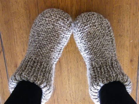 easy knit slipper pattern on the moon we had gold spoons adventures in quietude