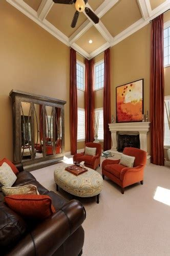 Great Room Windows Inspiration Two Story Great Room With A Great Color Palette How All The Colors Just Tie In So Well