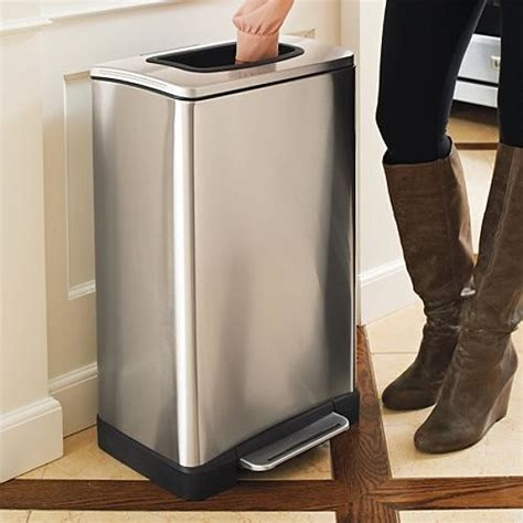 trash compactors for home stainless steel manual trash compactor traditional