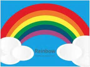 Rainbow Powerpoint Template Free by Free Rainbow Powerpoint Template