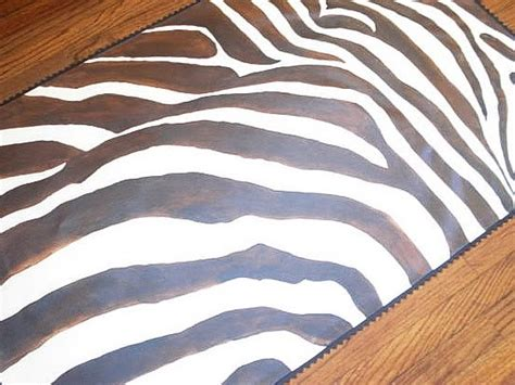 paint colors to match zebra print herbert faux painting zebra print floorcloth