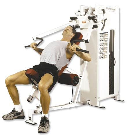 assisted bench press machine magnum fitness combination series magnum biangular