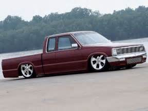 1986 mazda b2200 custom mini trucks truckin