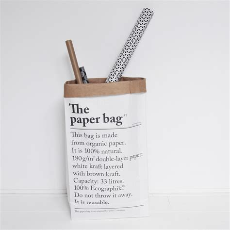 The Bag le studio be poles le sac en papier the paper bag villa