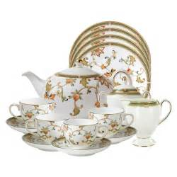 wedgwood collection oberon fine bone china tea set
