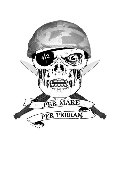 royal marines commando tattoo designs royal marines 42 cdo 2 helmet by bootneck42 on deviantart