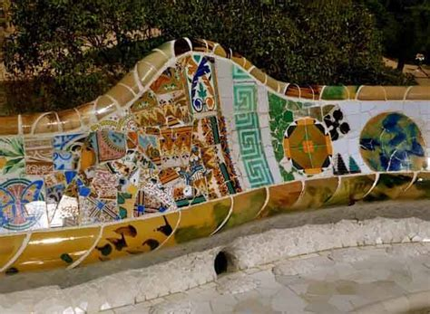 Banc Parc Guell by Parc G 252 Ell 224 Barcelone Visite Tarif Tickets Coupe File