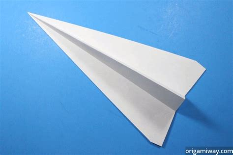 How To Make A Regular Paper Airplane - dart paper airplane