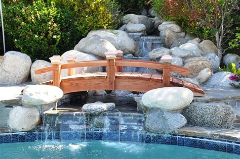 Backyard Bridge Ideas 25 Fascinating Pool Bridge Ideas That Leave You Enthralled