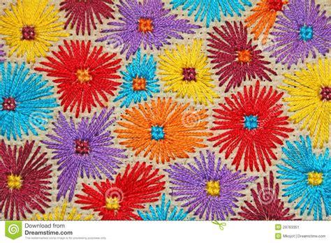 imagenes de flores bordadas a mano flores bordadas 6 imagen de archivo imagen 29763351