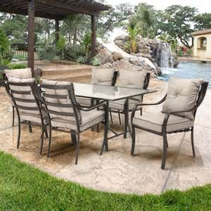 portico 7 piece outdoor dining set search