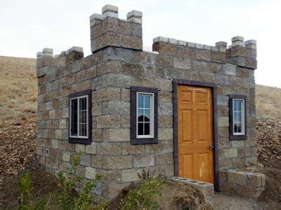 Slab House Plans by Castle Construction Building A Split Face Block Castle