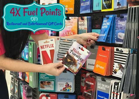 Kroger Restaurant Gift Cards - 4x fuel points are back at kroger restaurant and entertainment gift cards kroger krazy