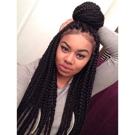Large Box Braids Hairstyles by 40 Big Box Braids Styles Herinterest