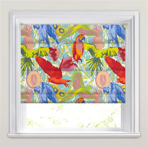 Funky Kitchen Blinds Uk Vibrant Funky Colourful Tropical Pop Patterned