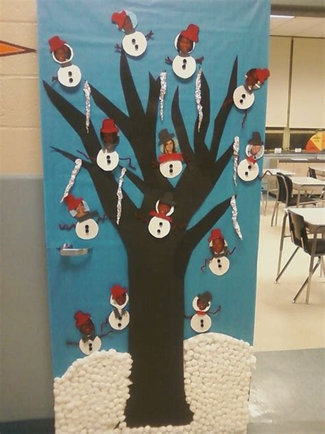 christmas decorations for school door decorating ideas casual cottage