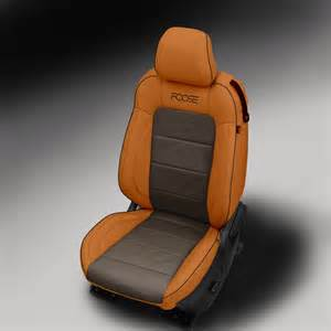 ford mustang katzkin foose edition leather seat upholstery
