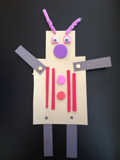 Make A Paper Robot - affirmative robots in storytime never shushed