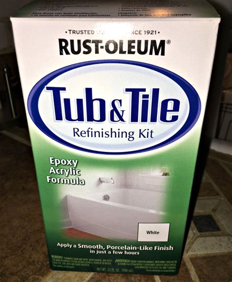rustoleum bathtub refinishing kit rust oleum tub tile refinishing kit review weve tried