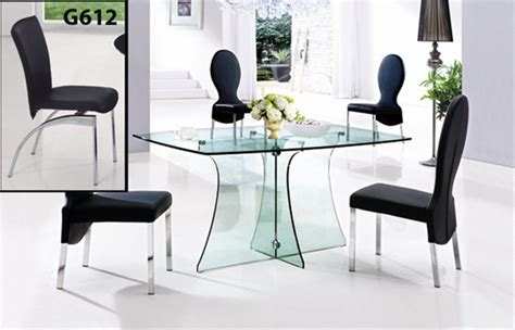 large glass table l serene large glass table