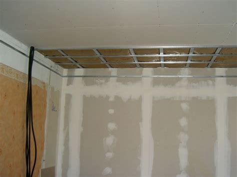 isolation mur ext 233 rieur suite mise en place plafond