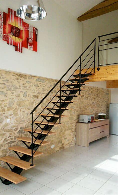 escaliers metallique garde corps noir vendee escaliers