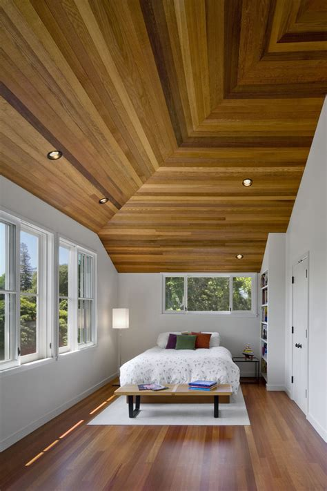 wood panel ceiling ideas wood panel ceiling ideas bedroom contemporary with