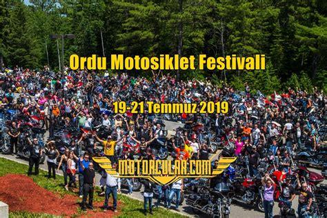 ordu motosiklet festivali motorcularcom