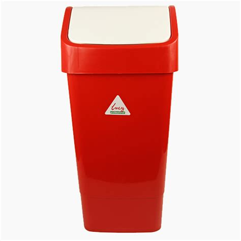 Swing Bin Red 50 Ltr Cleanwipes Ltd
