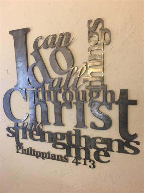 christian home decor store philippians 4 13 metal wall artphilippians bible
