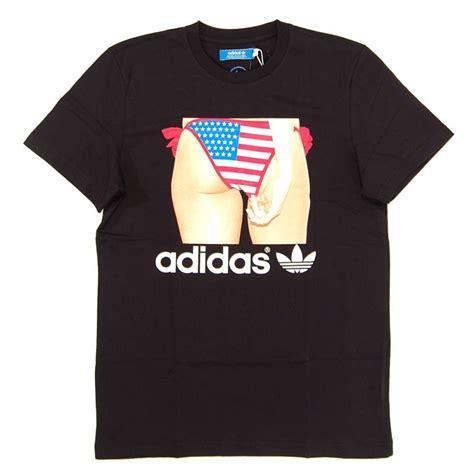 Tshirt Adidas Cloth adidas originals adi bottom t shirt black mens t shirts