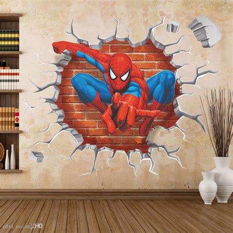 Murah 3d Wall L Decoration Spyder article 3d wall wholesale