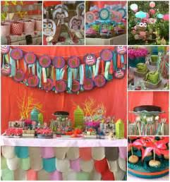 kara s ideas girly owl birthday planning ideas