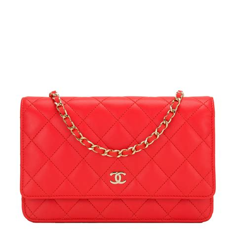 Sale Tas Wanita Lv Classic Woc chanel quilted lambskin classic wallet on chain woc world s best