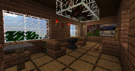 How To Make Living Room Minecraft Minecraft Tree House The Living Room By Trancendency On