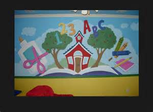Wall Murals For Schools murals dallas fakkel art learning is fun wall mural