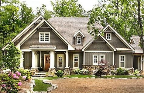 house plans craftsman style 06202 lodgemont cottage front elevation craftsman style